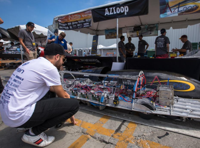 Congrats to AZLoop for placing at the top at the Hyperloop Competition!