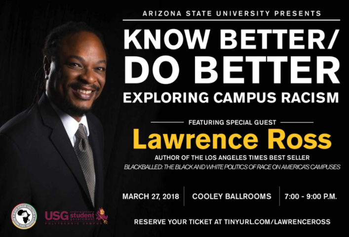Join us for a Powerful Discussion with Special Guest, Lawrence Ross, on March 27