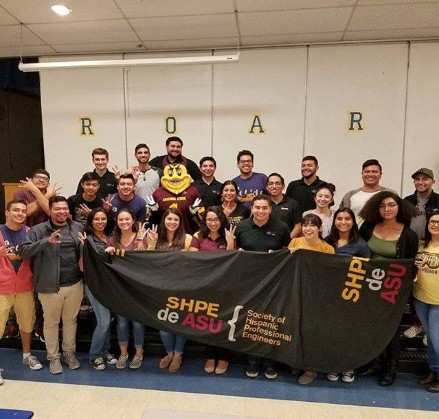 Society of Hispanic Professional Engineers, Best K-12 Outreach and Most Active Organization, 2017-18 SOAR Awardee