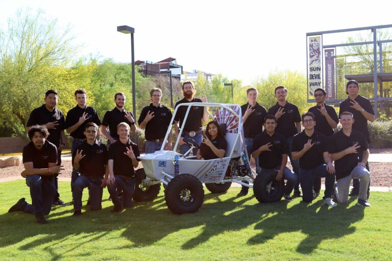 Sun Devil Racing team photo