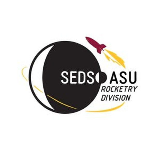 Students for the Exploration and Development of Space Arizona State University Rocketry Division (SEDS) logo