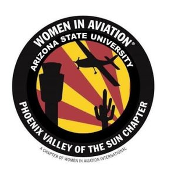 Women in Aviation (WAI) logo